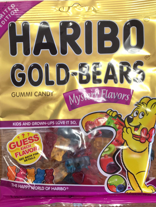 Guess haribo mystery flavors