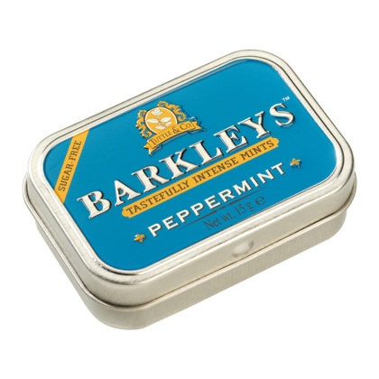 Barkley's Peppermint Mini Mints 15g