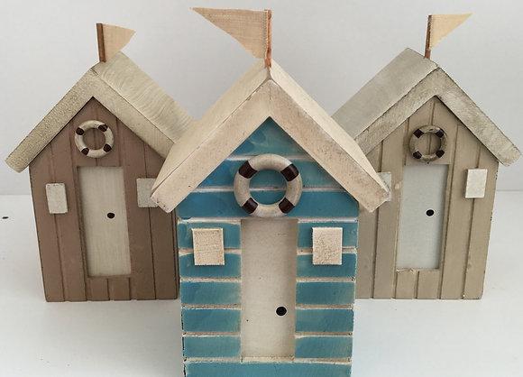 Small Beach Hut Money Box