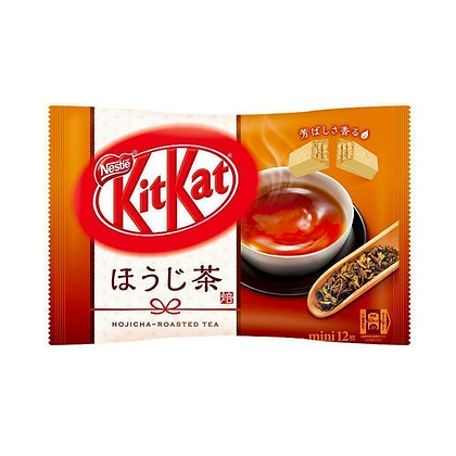 Nestle Japan KitKat Mini Hojicha Roasted Green Tea Share Pack 139g