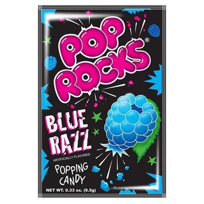 Pop Rocks Blue Razz Popping Candy 9.5g