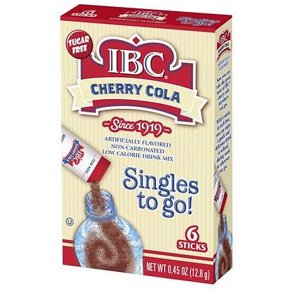 IBC Cherry Cola Singles to go 6 Stick Pack