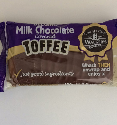 Milk Chocolate Covered Toffee 100g
