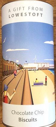 Beaches & Cream Lowestoft - Chocolate Chip Biscuits 200g