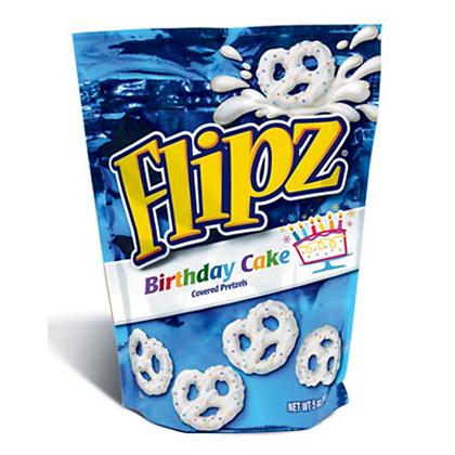 Flipz - Birthday Cake Covered Pretzels 141g