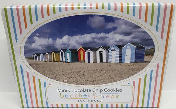 Beaches & Cream Southwold - Mini Chocolate Chip Cookies Gift Box 150g