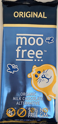 Moo Free - Organic Milk Chocolate Dairy Free 100g