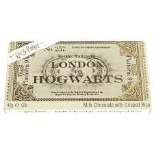 Harry Potter London to Hogwarts Milk Chocolate with Crisped Rice 42g