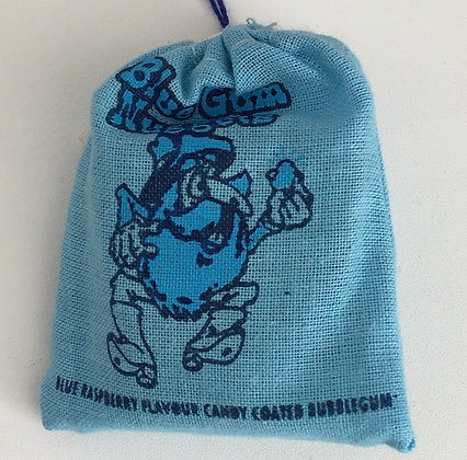 Blue Gum Nuggets - Blue Raspberry Gum 28g