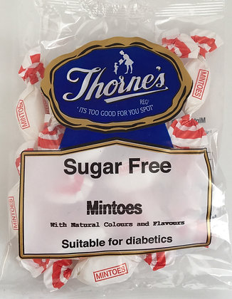 Thorne's Sugar Free - Mintoes 100g