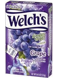 Welch's Singles to go Grape 12.8g
