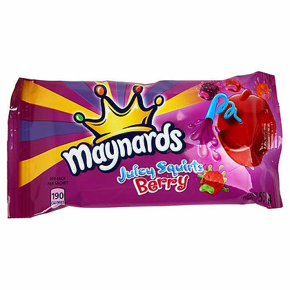 Maynards Juicy Squirts Berry 55g