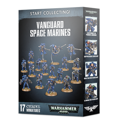 Warhammer 40K Start Collecting Vanguard Space Marines