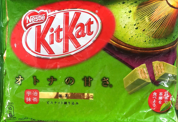 Nestle Japan KitKat Mini Matcha Tea Share Pack 146.9g