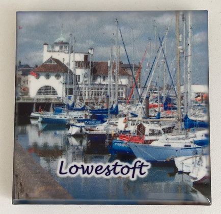 Lowestoft Fridge Magnet