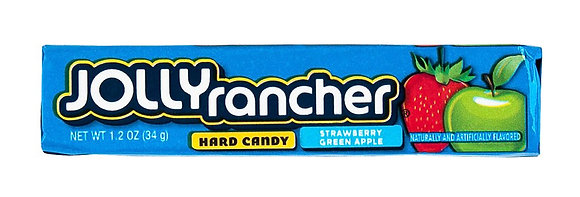 Jolly Rancher - Hard Candy Strawberry Green Apple 43g