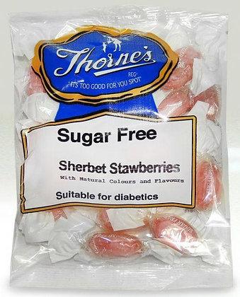 Thorne's Sugar Free Sherbet Strawberries 100g
