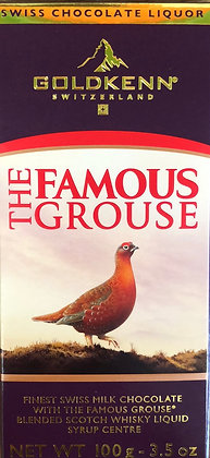 GOLDKENN Swiss Chocolate Liquor - The Famous Grouse 100g