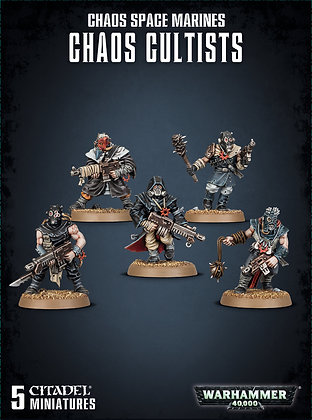 Warhammer 40K Chaos Space Marines Chaos Cultists