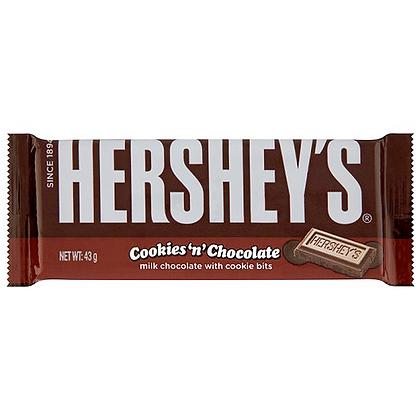 Hershey's bar 43g - Cookies 'n' chocolate