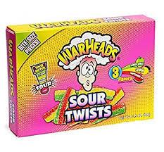Warheads - Sour Twists 99g