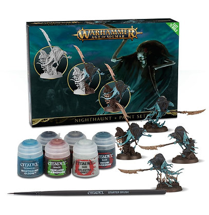 Warhammer Age of Sigmar Nighthaunt + Paint Set