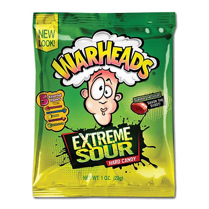Warheads - Extreme Sour Hard Candy 28g