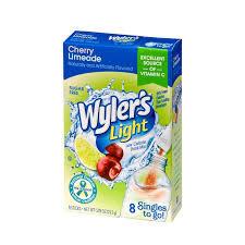 Wyler's Light Singles to Go Cherry Limeade 22.2g