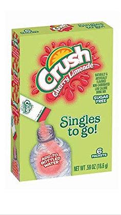 Crush Cherry Limeade Singles to Go 16.6g