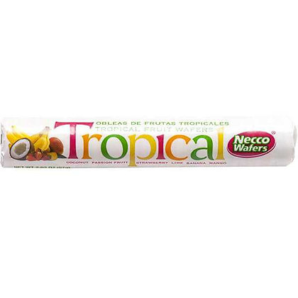 Necco - Tropical Wafers 57g
