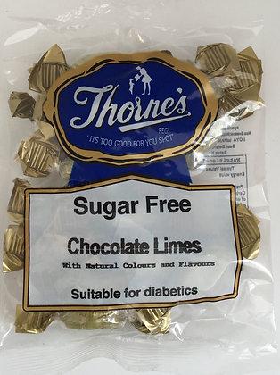 Thorne's Sugar Free - Chocolate Limes 100g