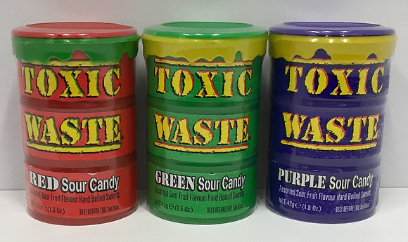 Toxic Waste - Sour Candy 42g