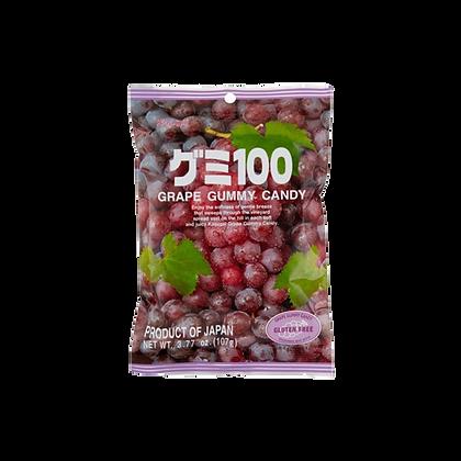 KASUGAI SEIKA - Grape Gummy Candy 107g