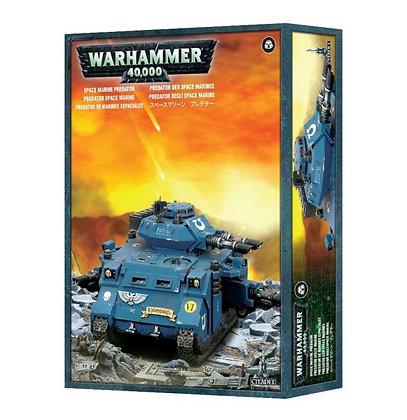 Warhammer 40K Space Marine Predator