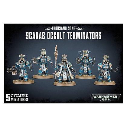 Warhammer 40K Thousand Sons Scarab Occult Terminators