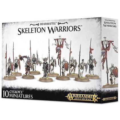 Warhammer Age of Sigmar Deathrattle Skeleton Warriors