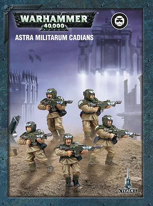 Warhammer 40K Astra Militarum Cadians