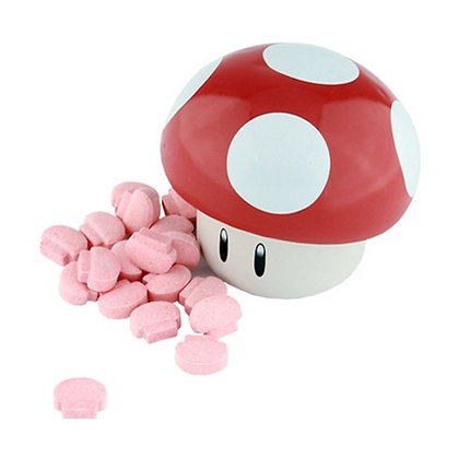 Nintendo Mushroom Sours COLLECTABLE- Sour Cherry 25.5g