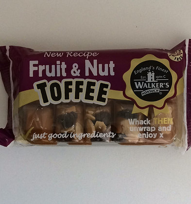 Fruit & Nut Toffee 100g