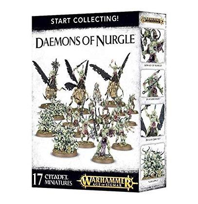 Warhammer Age of Sigmar Daemons of Nurgle