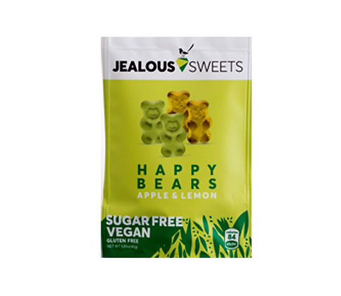 Jealous Sweets Happy Bears Apple & Lemon (Vegan & Sugar Free) 40g