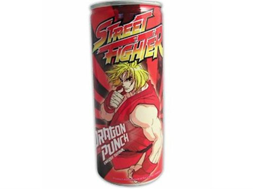 Street Fighter Dragon Punch Energy Drink