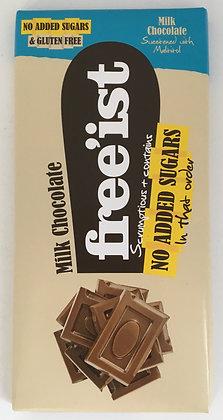 Free'ist - No Added Sugar Milk Chocolate 75g