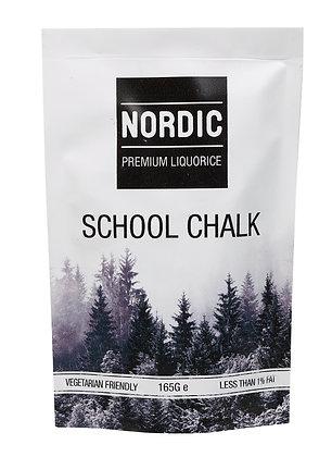 Nordic Premium Liquorice - School Chalk 165g