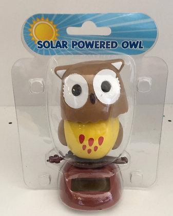 Owl Solar Figure
