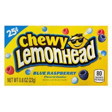 Chewy Lemonhead - Blue Raspberry 23g