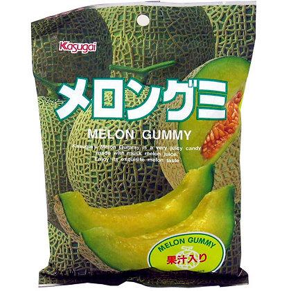 KASUGAI SEIKA - Melon Gummy Candy 108g