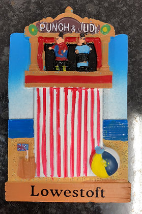 Lowestoft Punch & Judy Fridge Magnet