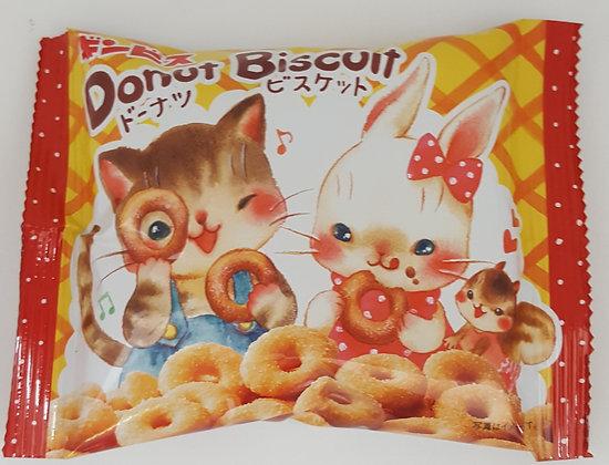GINBIS - Doughnut Biscuits 40g