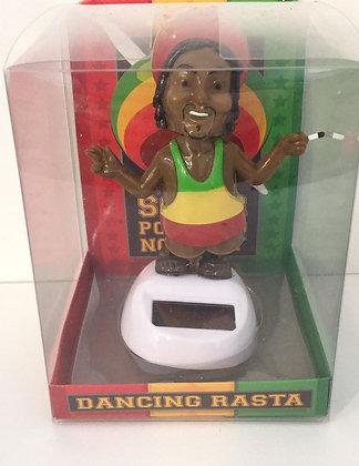 Dancing Rasta Solar Figure